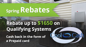 Carrier® Cool Cash up to $1,650